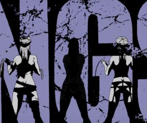 anime, gangsta, and manga image