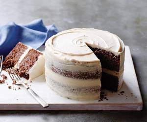 cake, chocolate, and cream image