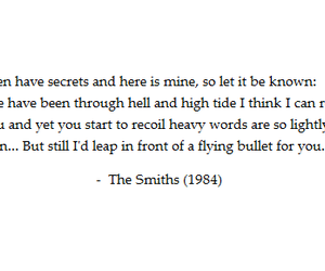 quotes, the smiths, and text image