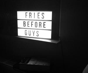 black, dark, and fries image