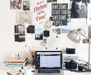school, room, and study image