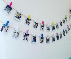 decor, photography, and polaroid image