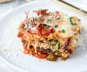 food and lasagna image