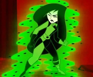 green, magic, and shego image