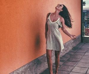 bohemian, dress, and girls image