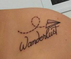 tattoo and wanderlust image