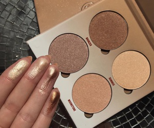 beauty, highlighter, and abh image
