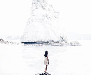 girl, travel, and white image