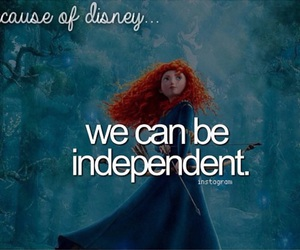 brave, disney, and because of disney... image