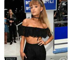 ariana grande, vmas, and mtv image