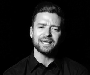 black and white, clip, and justin timberlake image