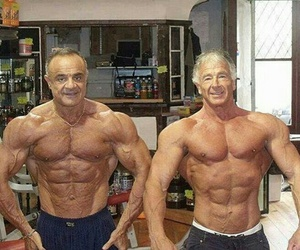 fitness, papa, and hombres image