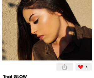 glow, that glow, and highlight image