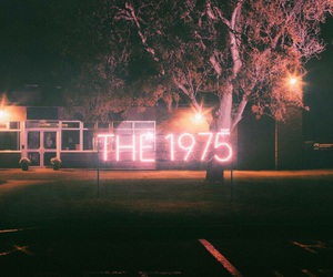 the 1975, pink, and band image