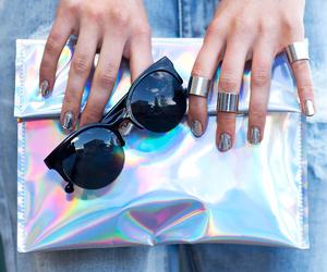 fashion, sunglasses, and nails image