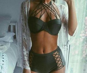 fashion, bikini, and body image