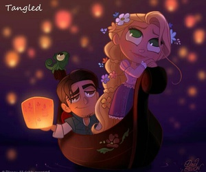 rapunzel and love image