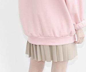 pink, girl, and kfashion image