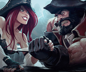miss fortune and league of legends image