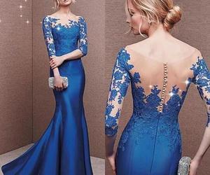 beautiful, dress, and model image