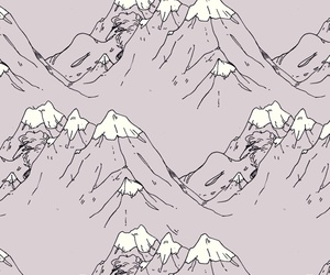 wallpaper and mountains image