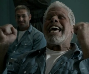 sons of anarchy, ron perlman, and samcro image