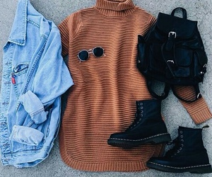 chic, hipster, and fashion image