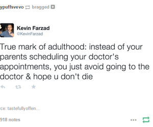 adulthood, funny, and lol image