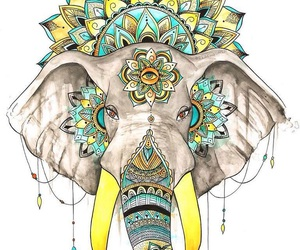 draws, hippie, and art image