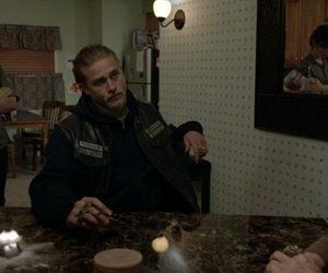 Charlie Hunnam, gemma, and sons of anarchy image