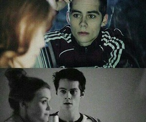 stydia, dylan o'brien, and teen wolf image