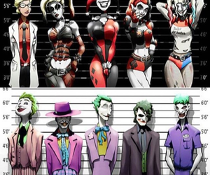 joker, harley quinn, and dc comics image