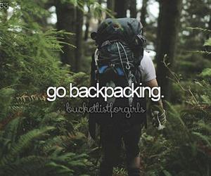 backpacking image