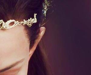 crown, elf, and elf ear image