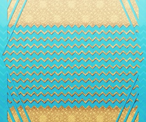 gold, pretty, and teal image