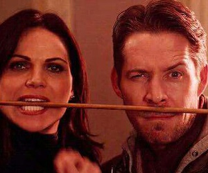 once upon a time, lana parrilla, and outlawqueen image