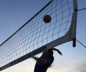 beach, goals, and sports image
