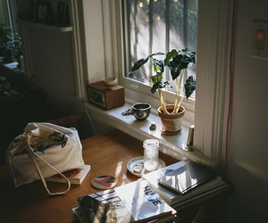 home, photography, and book image