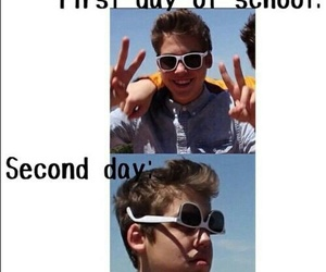 school, funny, and matthew espinosa image