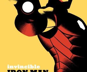 iron man, super heroe, and Marvel image