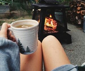 autumn, tea, and cozy image