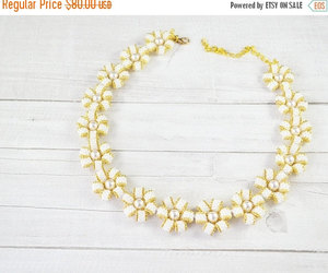 beaded necklace, pearl jewelry, and pearl necklace image