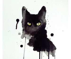 animal, cat, and art image