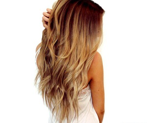 blonde, brown, and hairstyle image