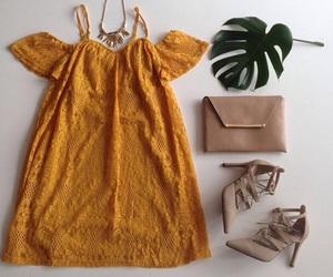 bag, dress, and fashion image