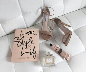 fashion, perfume, and shoes image