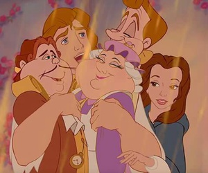 disney, beauty and the beast, and family image