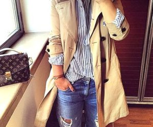 trench coat outfit image