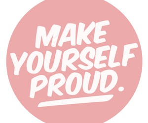 quotes, proud, and yourself image