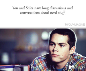 imagine, teen wolf, and dylan o'brien image
